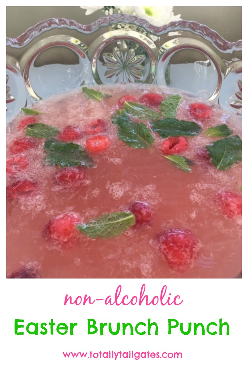 Easter Brunch Punch is a non-alcoholic family favorite beverage!