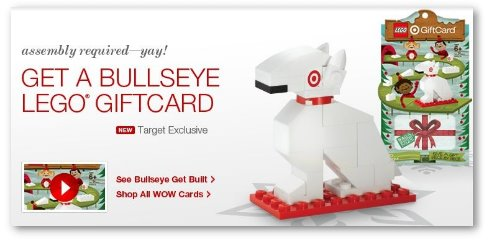 Target LEGO Gift Card: Awesome Stocking Stuffer | TotallyTarget.com