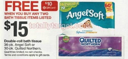 FREE $10 Target Gift Card When You Buy 2 Quilted Northern Or Angel ... : quilted northern target - Adamdwight.com