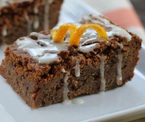 florida orange brownies