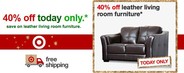 Target.com 40% Off Leather Living Room Furniture  sc 1 st  Totally Target & Target.com: Save 30% On Kids\u0027 Furniture Today Only   TotallyTarget.com islam-shia.org