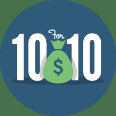 $10WelcomeBonus
