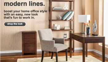 target: up to 30% off home furniture + get an extra 10% off with