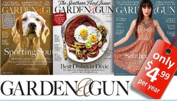 Garden Gun Magazine 1 Year Subscription 499 TotallyTargetcom