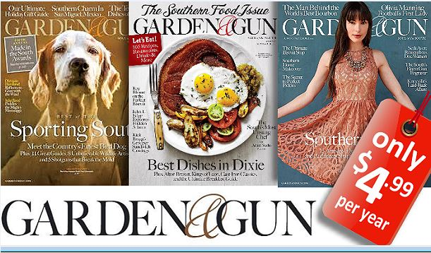 Today You Can Score A One Year Subscription To Garden U0026 Gun Magazine For  Just $4.99/year (up To 2 Years!), Just Use The Code TOTALLYTARGET At  Checkout.
