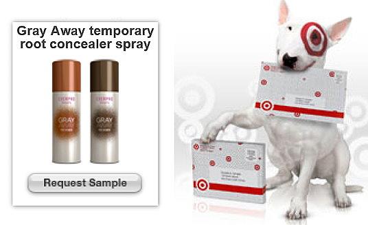 Target Sample Spot: FREE Sample Of Gray Away | TotallyTarget.com