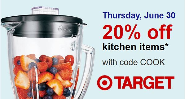 Target Deal Days Of Summer Get An Extra 20 Off Select Kitchen Items Online In Stores Today