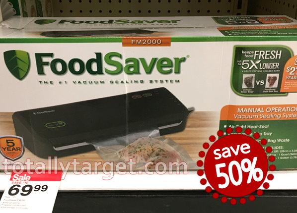 Foodsaver coupon $15