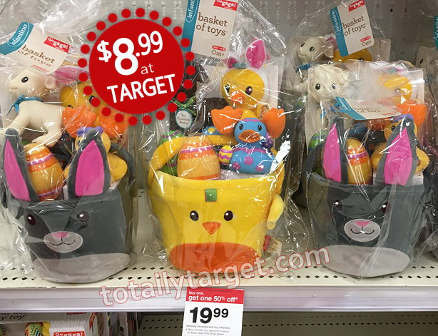Basket of easter toys for baby by infantino as low as 899 each baby toys easter negle Choice Image