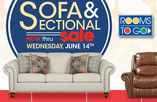 Check Out The Rooms To Go Sofa U0026 Sectional Sale For The Latest Deals And  Savings On A Huge Assortment Of Furniture! Whether Youu0027re Looking To  Replace ...