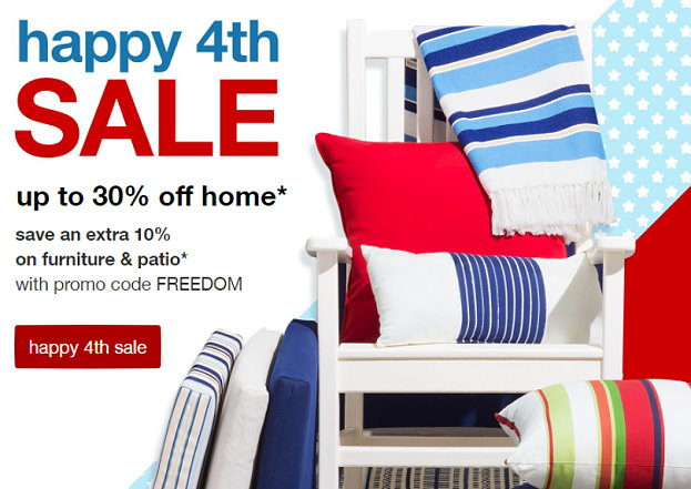 Good Target Home Sale: Save Up To 30% On Furniture U0026 Patio + Extra 10