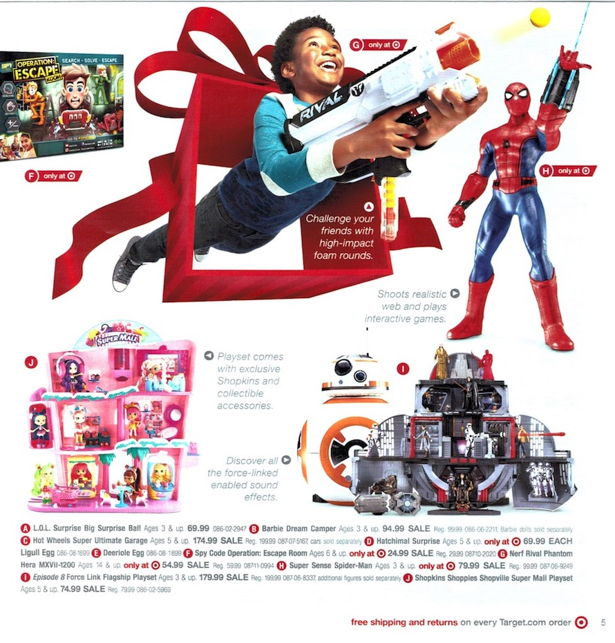 Target Toy For 10 And Up : Target toy book preview good news for the holidays