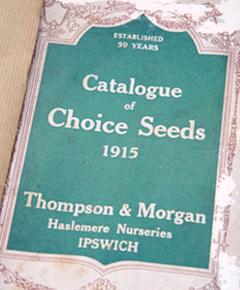 Thompson & Morgan's Catalogue of Choice Seeds 1915