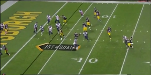 Antonio Brown TD PAss