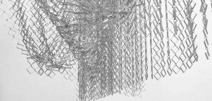 Obra de Ascanio MMM, em exposição na Casa Triângulo