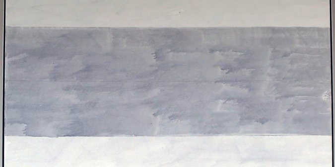 Agnes Martin, Untitled (2004)