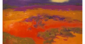 Richard Mayhew (American, born 1924), Summation, 2013
