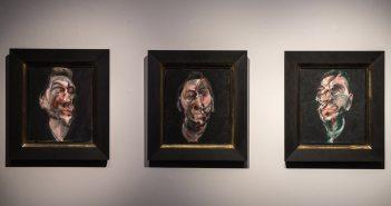 """""""Three Studies for a Portrait of George Dyer"""" está em exposição na Christie's de Londres antes de ir à leilão em Nova York"""
