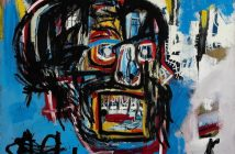 Untitled (1982), de Jean Michel-Basquiat. Foto: cortesia Sotheby's Nova York