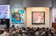 Leilão de arte contemporânea e pós-guerra da Sotheby's