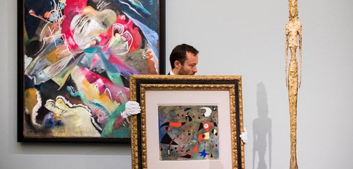 Kandinsky quebra dois recordes em leilão da Sotheby's