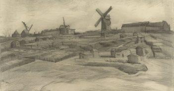 A colina de Montmartre (1886), de Van Gogh