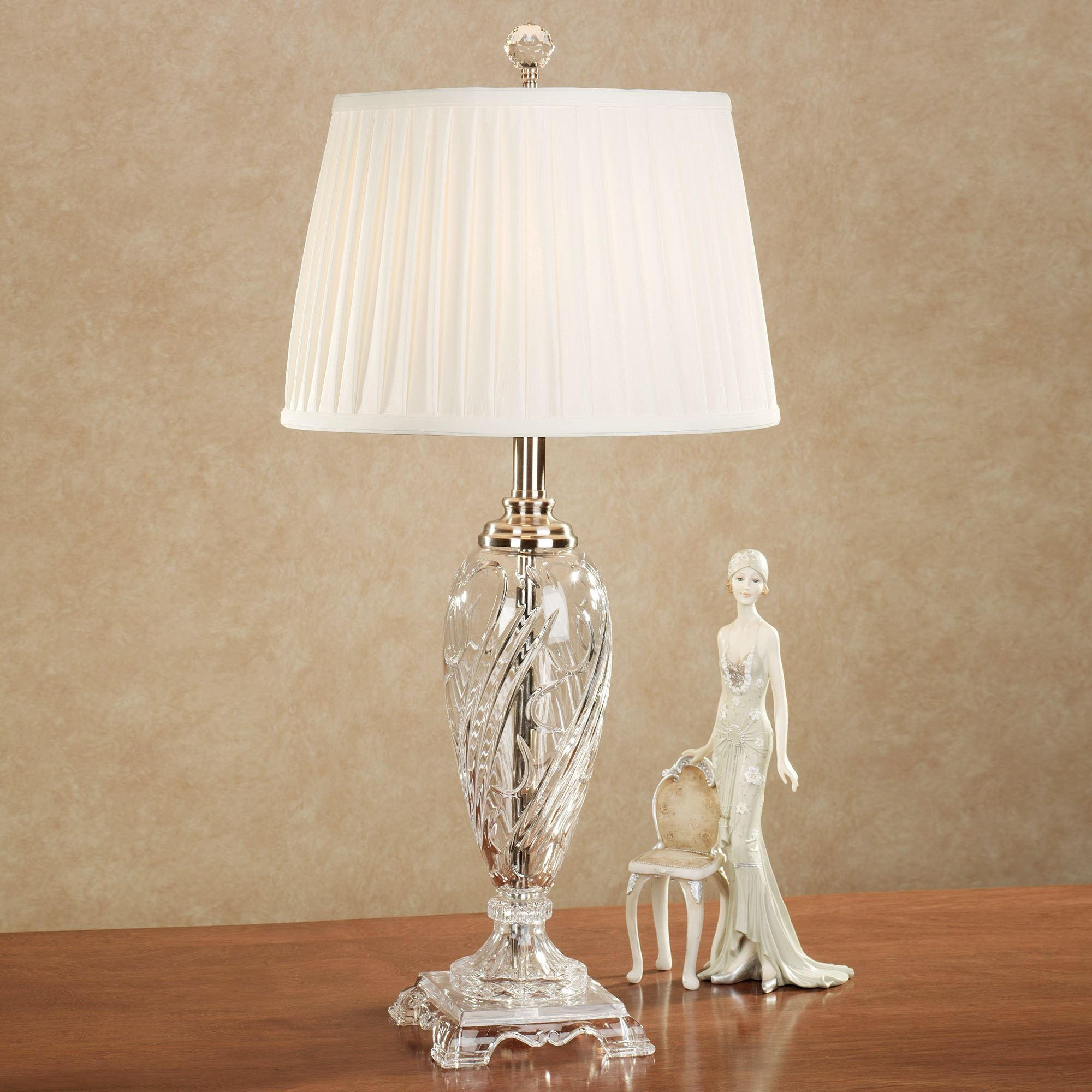 Elegant Black Shade Crystal Table Lamps Nz Morgana Crystal Table Lamp Polished Click To Expand Morgana Crystal Table Lamp By Dale Tiffany Crystal Crystal Table Lamps houzz 01 Crystal Table Lamps