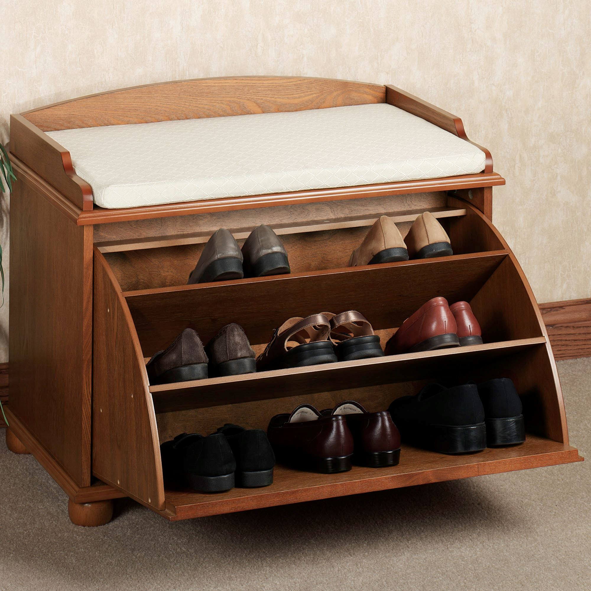 Fullsize Of Bench With Shoe Storage