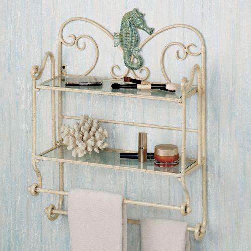 Plush Click To Expand Sea Breeze Bath Wall Shelf Organizer Decorative Bathroom Wall Shelving Bathroom Wall Cabinets Shelving