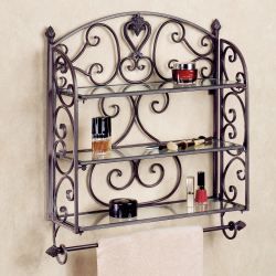 Small Crop Of Decorative Bathroom Wall Shelves