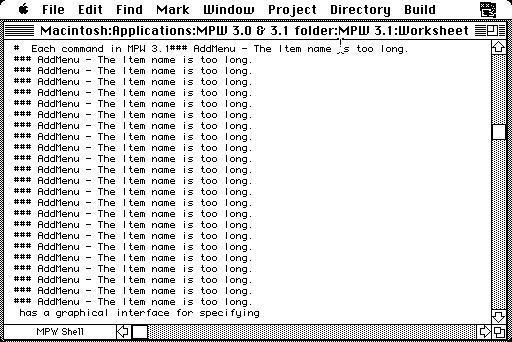 System 6.0.8 on a vintage Macintosh SE with 4MB RAM   ToughDev