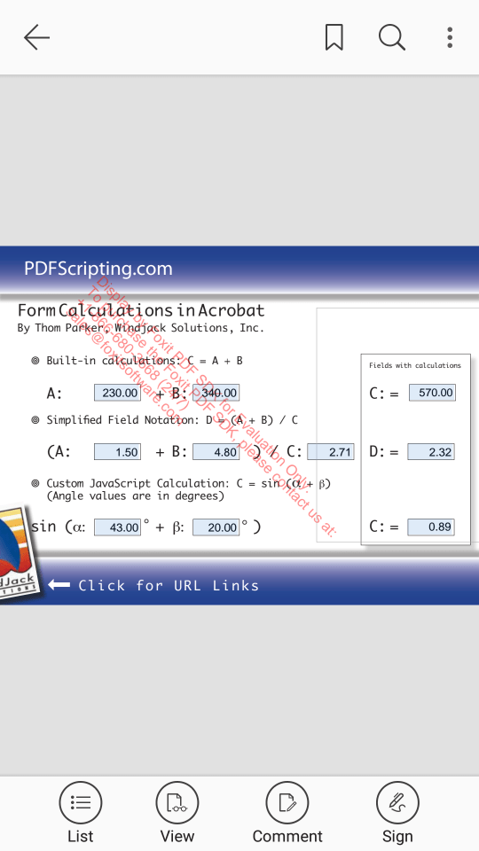 Foxit MobilePDF SDK Demo App (16)