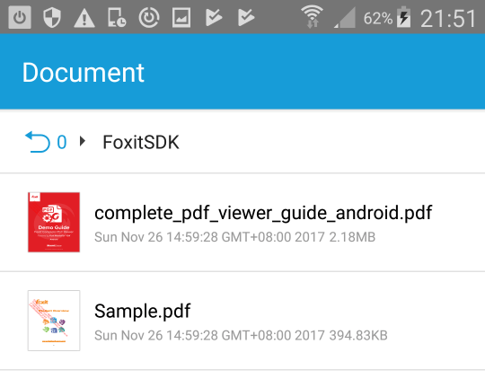 download foxit reader for android