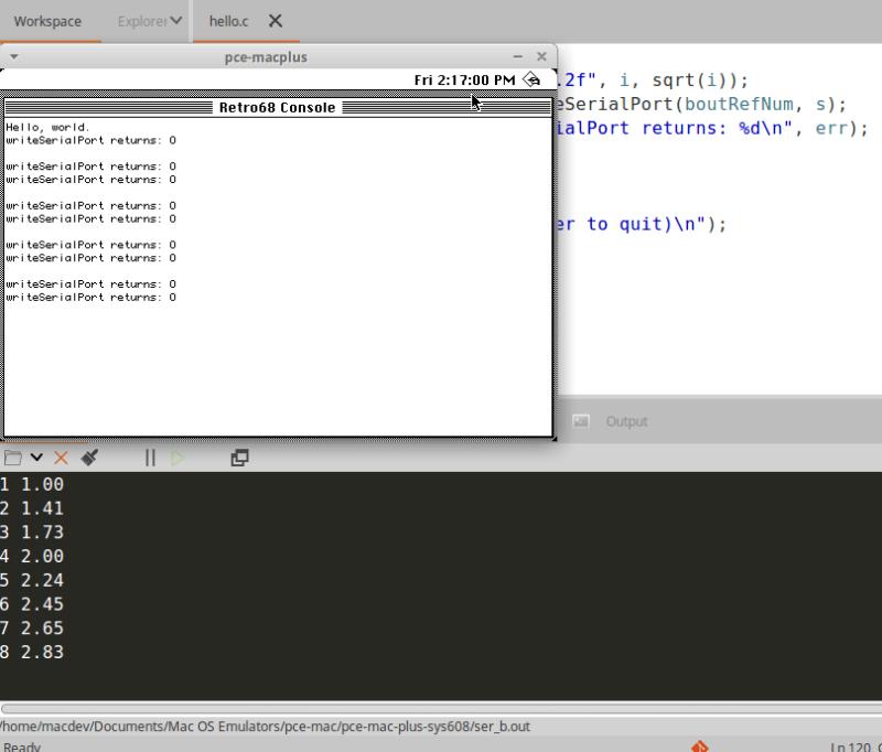 codelite_serial