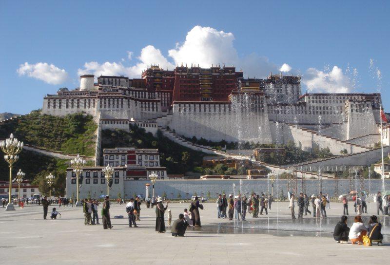 Palác Potala - Lhasa, Tibet