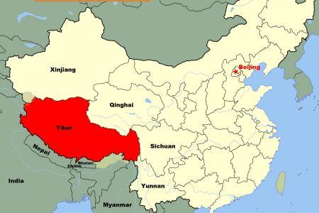 gallery for > tibetan plateau location