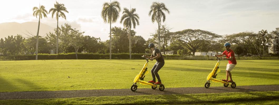 "La moda del ""Trikke"" se afianza en República Dominicana"