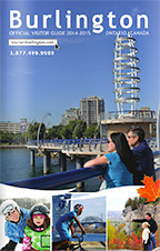 Burlington Tourism Visitor Guide 2014-2015