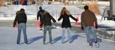 Ice Skating at Discovery Landing