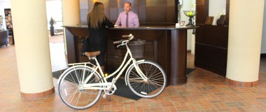 Cyclist Offer at Hotel