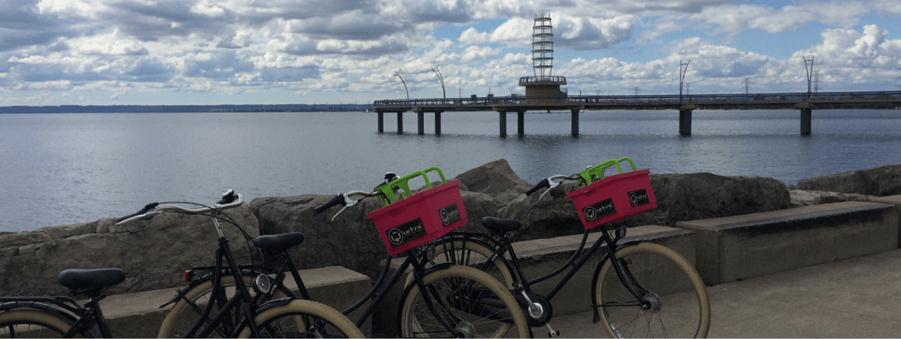 urkai bikes at pier