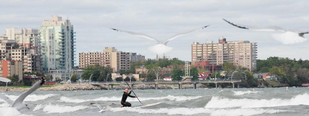 Lake Ontario SUP - Eric Marshall