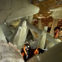 Largest Crystals in the World: Giant Crystal Cave, Mexico