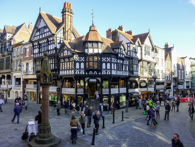 10 Best Places to Visit in the UK  with Photos   Map    Touropia Chester