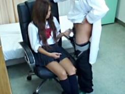 【JKレイプ盗撮動画】深刻な悩みを相談するギャル女子校生ほど効きやすい催眠術…悪徳カウンセラーの記録が流出…