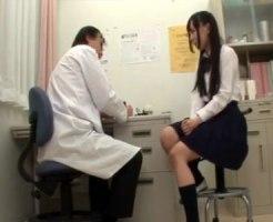 【病院隠撮動画】内科検診で初潮時期や彼氏とのセックスを詳しく聞くセクハラ医師の隠しカメラ撮り映像…