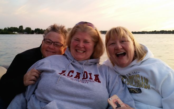 Me, LaRue and Amy