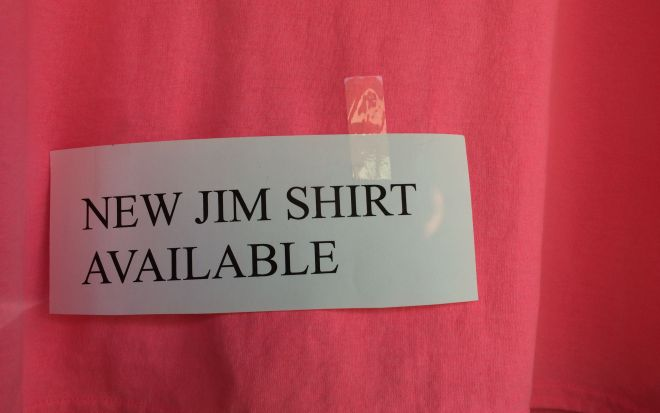 New Jim Shirt available