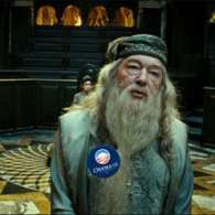 Barack Obama Likes Dumbledore, But Offers Him His Privacy