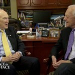Former GOP Sen. Alan Simpson Tears into 'Homophobic' Santorum: VIDEO